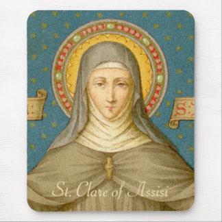 Mousepad St. Clare de Assisi (SAU 027)