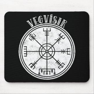 Mousepad Stave islandês do compasso de VEGVISIR