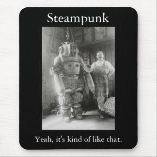 Mousepad Steampunk: Yeah, ele tipo como daquele