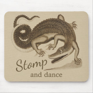 Mousepad Stomp e dance o crocodilo CC0895 feliz selvagem