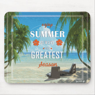 Mousepad Summer-orange