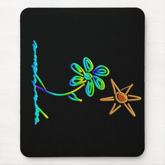 Mousepad sun&flower