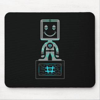 Mousepad Super-herói do Tag da mistura