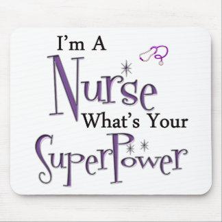 Mousepad Superpotência da enfermeira