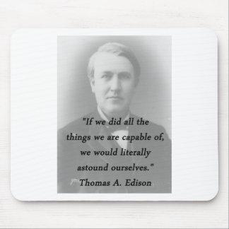 Mousepad Surpreenda-se - Thomas Edison