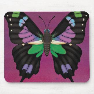 Mousepad Swallowtail manchado roxo