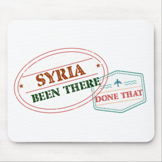 Mousepad Syria feito lá isso