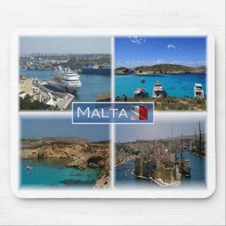 Mousepad TA Malta - a zona industrial marítima de Valletta