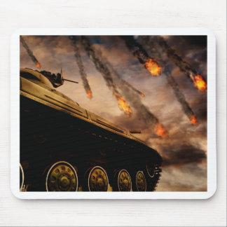 Mousepad Tanque militar no campo de batalha