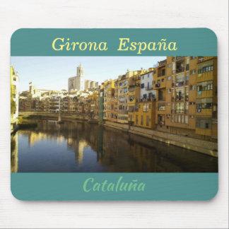 "Mousepad tapete de ratos ""Girona"" Espanha, Spain"