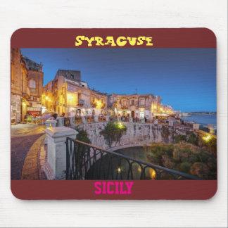 "Mousepad Tapete de ratos ""Syracuse, Sicília """