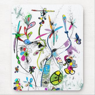 Mousepad Tapete de ratos vertical Alice' s Garden