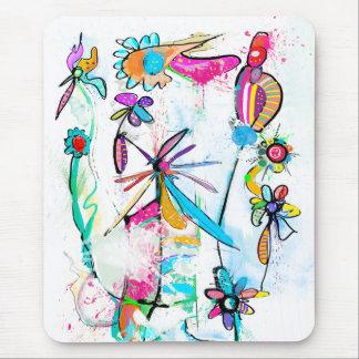 Mousepad Tapete de ratos vertical Alice' s Garden II