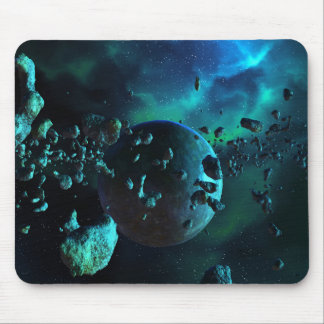 Mousepad Tapete do rato asteróide da fantasia do campo