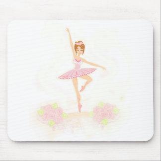Mousepad Tapete do rato bonito da bailarina