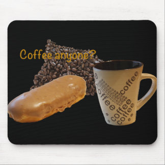 """Mousepad Tapete do rato """"café qualquer um """" da rosquinha do"""