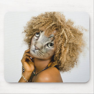 Mousepad Tapete do rato com um design digital da arte da