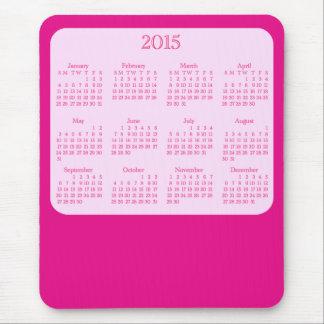 Mousepad Tapete do rato cor-de-rosa antigo de 2015