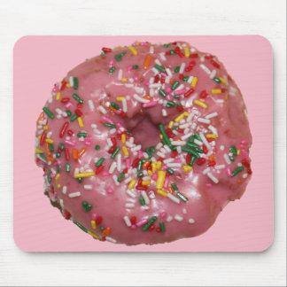 Mousepad Tapete do rato cor-de-rosa da rosquinha