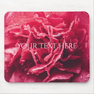 Mousepad Tapete do rato cor-de-rosa romântico do close up |