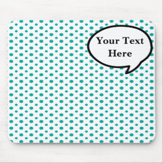Mousepad Tapete do rato customizável da bolha da palavra
