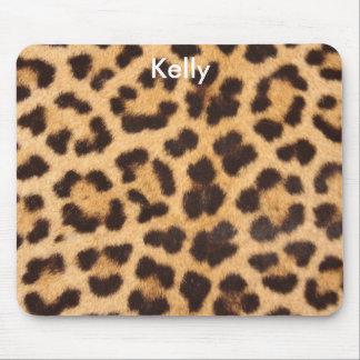 Mousepad Tapete do rato customizável do leopardo