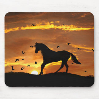 Mousepad Tapete do rato da fantasia do cavalo
