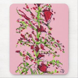 Mousepad Tapete do rato da flor