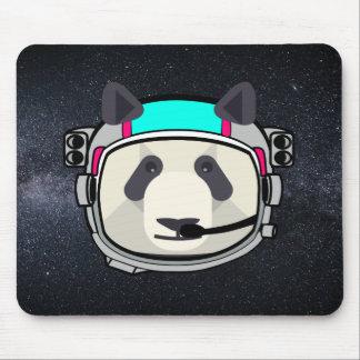 Mousepad Tapete do rato da panda do astronauta