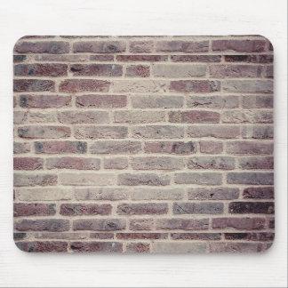 Mousepad Tapete do rato da parede de tijolo