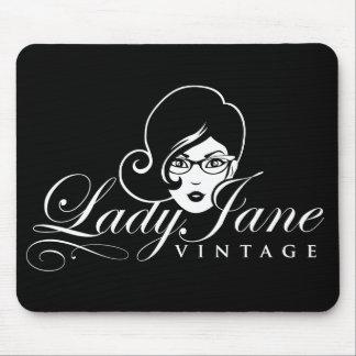 Mousepad Tapete do rato da senhora Jane Vintage