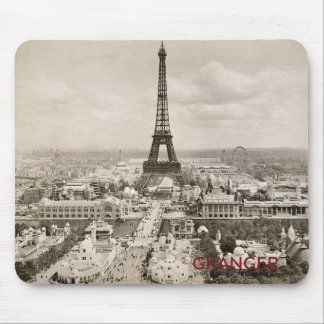 Mousepad Tapete do rato da torre Eiffel
