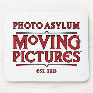 Mousepad Tapete do rato das imagens moventes do asilo da