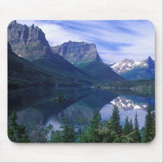 Mousepad Tapete do rato das montanhas de Montana