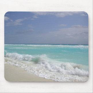 Mousepad Tapete do rato das ondas de oceano de Cancun