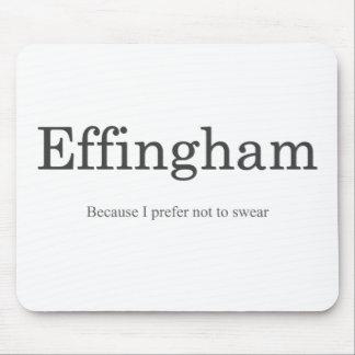Mousepad Tapete do rato de Effingham