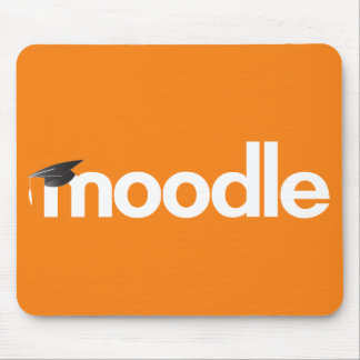 Mousepad Tapete do rato de Moodle - laranja