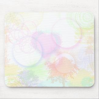 Mousepad tapete do rato de néon dos doces