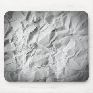 Mousepad Tapete do rato de papel amarrotado