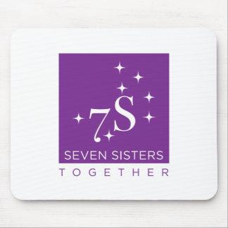 Mousepad Tapete do rato de sete irmãs junto