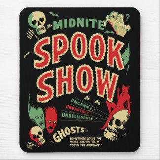 Mousepad Tapete do rato de Spookshow do vintage