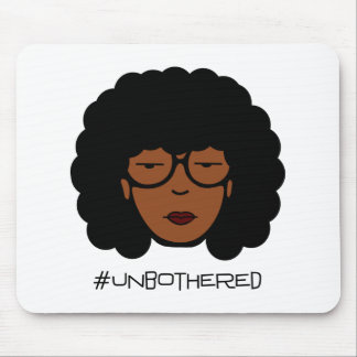 Mousepad Tapete do rato de Unbothered