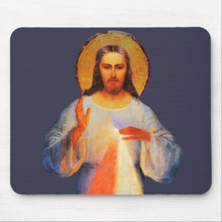 Tapete do rato divino do compaixão de Jesus