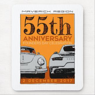 Mousepad Tapete do rato do aniversário de Mavs 55th