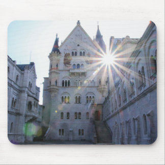 Mousepad Tapete do rato do castelo de Neuschwanstein