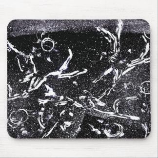 Mousepad Tapete do rato do desenho da tinta