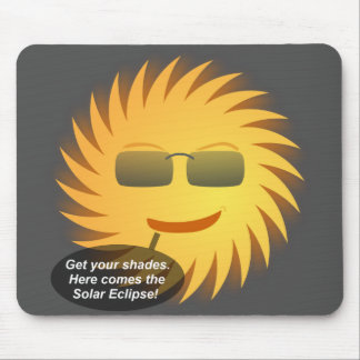 Mousepad Tapete do rato do eclipse solar