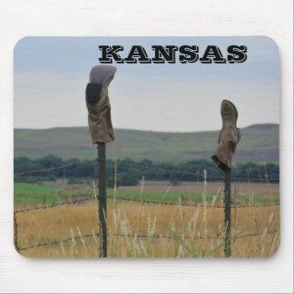Mousepad Tapete do rato do fazendeiro de Kansas