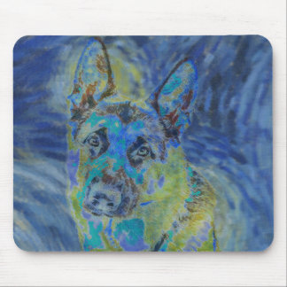 Mousepad Tapete do rato do german shepherd