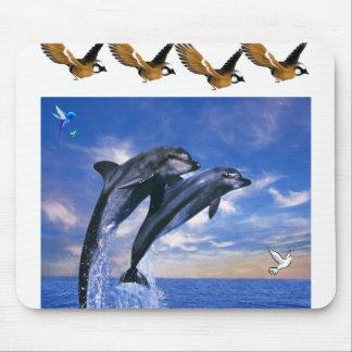 Mousepad Tapete do rato do golfinho